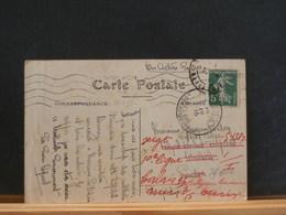 76/000   CP DE FECAMP CORRESPONDANCE DE SOLDAT BLESSE 1915 - WW I