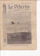 Revue LE PELERIN 1909 25 Juillet Les Aviateurs, L'Espagne Au Maroc, Révolution En Perse, Le 14 Juillet - 1900 - 1949