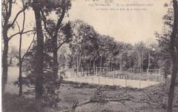 CPA Garde Saint Cast, Le Tennis Dans Le Bois De La Vieux Ville (pk46082) - Saint-Cast-le-Guildo