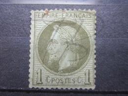 VEND TIMBRE DE FRANCE N° 25 , NEUF SANS GOMME !!! (b) - 1863-1870 Napoléon III Lauré