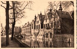 CPSM Bruges Quai Vert Et Palais Du Franc - Brugge