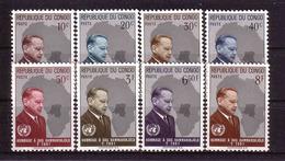 20h * KONGO 83/90 * HAMMARSKJÖLD * POSTFRISCH **!! - Dem. Republik Kongo (1964-71)