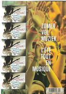 Belg. 2013 - COB N° 4357 ** - L' été Tout En Musique - Festivals (1/2 Feuillet) - Unused Stamps