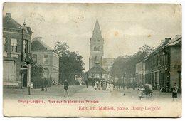 CPA - Carte Postale - Belgique - Bourg-Léopold - Vue Sur La Place Des Princes - 1906 (CP2591) - Leopoldsburg (Camp De Beverloo)
