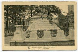 CPA - Carte Postale - Belgique - Bourg-Léopold - Monument Du Souvenir (CP2593) - Leopoldsburg (Camp De Beverloo)