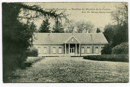 CPA - Carte Postale - Belgique - Bourg-Léopold - Camp De Beverloo - Pavillon Du Ministre De La Guerre - 1908 (CP2597) - Leopoldsburg (Camp De Beverloo)