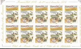 """Monaco 2006 - Vignettes Adhésives """"Monacophil 2006"""" (sans Valeur) - Monaco"""