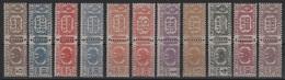 1927-32 Pacchi Postali Aquila Sabauda Serie Cpl MNH - Nuevos