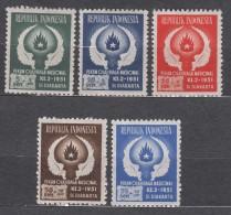 Indonesia 1951 Mi#89-93 Mint Never Hinged - Indonésie