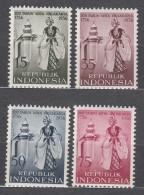 Indonesia 1956 Mi#186-189 Mint Never Hinged - Indonésie