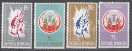 Indonesia 1965 Mi#469-472 Mint Never Hinged - Indonésie