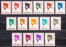 Indonesia 1965 Mi#473-487 Mint Never Hinged - Indonésie