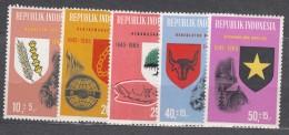 Indonesia 1965 Mi#490-494 Mint Never Hinged - Indonésie