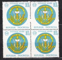 Indonesia 1968 Mi#598 Mint Never Hinged Block Of Four - Indonésie