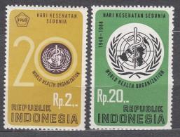 Indonesia 1968 Mi#603-604 Mint Never Hinged - Indonésie