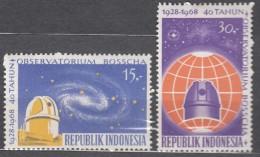 Indonesia 1968 Mi#616-617 Mint Never Hinged - Indonésie