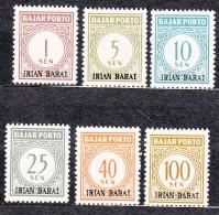 Indonesia Irian Barat - West Gunea, Porto Set, Mint Never Hinged - Indonésie