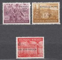 Indonesia 1961 Mi#288-290 Mint Never Hinged - Indonésie