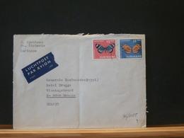76/055   LETTRE SURINAME - Farfalle