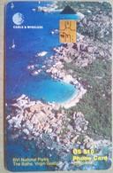 $10 National Parks Chip Card - Virgin Islands