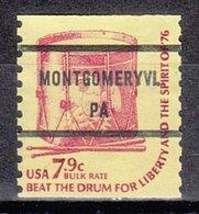 USA Precancel Vorausentwertung Preo, Bureau Pennsylvania, Montgomeryville 1615-81 - Vereinigte Staaten