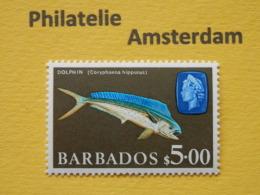 Barbados 1969, FAUNA FISH FISCHE VISSEN POISSONS PECES PESCI: Mi 280, ** - Peces