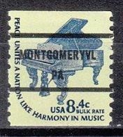 USA Precancel Vorausentwertung Preo, Bureau Pennsylvania, Montgomeryville 1615C-81 - Vereinigte Staaten