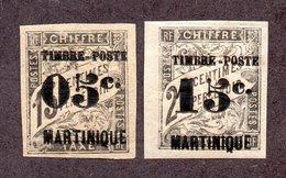 Martinique N°20,21 N* TB Cote 43 Euros !!! - Martinique (1886-1947)