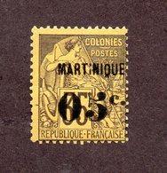 Martinique N°13a N* TB Cote 35 Euros !!! - Martinique (1886-1947)