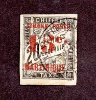 Martinique N°25 Oblitéré TB Cote 50 Euros !!! - Martinique (1886-1947)
