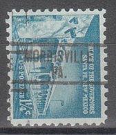 USA Precancel Vorausentwertung Preo, Locals Pennsylvania, Morrisville 813 - Vereinigte Staaten