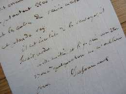 GENERAL Empire BORNE DESFOURNEAUX (1767-1849) Arc De Triomphe. Guadeloupe & SAINT DOMINGUE. AUTOGRAPHE - Autographs