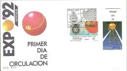 FDC ESPAÑA 1988 - 1992 – Sevilla (España)