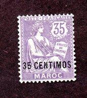 Maroc N°24 N* TB  Cote 49 Euros !!! - Nuevos