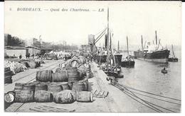 Cpa Bordeaux - Quai Des Chartrons . - Bordeaux