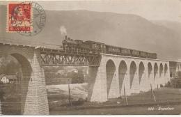 SWITZERLAND  RAILWAY BRIDGE GRENCHEN GRANGES - Eisenbahnen