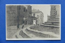 Cartolina Roma - Borgo S. Spirito - Illustratore A. Zardo - Serie V Alinari - Non Classificati