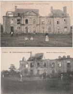 Saint-Sauveur Le Vicomte - Ruines Du Chateau Du Quesnoy - Saint Sauveur Le Vicomte