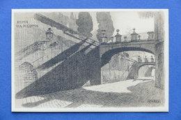 Cartolina Roma - Via Pilotta - Illustratore A. Zardo - Serie V Alinari - Non Classificati