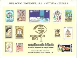ESPAÑA 1984 - Hojas Conmemorativas