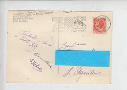 ITALIA - Marostica 1957 - Annullo Meccanico - Scacchi