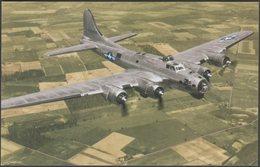 B-17 Flying Fortress In Flight - Ww2cards Postcard - 1939-1945: 2nd War