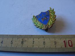 Insigne Décoration Broche Ancienne  Patronage S J B Rameau Chêne Olivier Agneau De Dieu Croix - Army & War