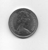 Piece  10 Pence Elizabeth II  1973 - Grossbritannien