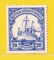 MiNr. 27 Xx  Deutschland Deutsche Kolonie Deutsch-Südwestafrika - Colonia: Africa Sud Occidentale