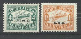SOUTH AFRICA YVERT AEREO  5/6   MH  * - Sellos
