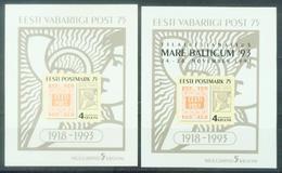 EE 1993-308 MARE BALTICUM, ESTONIA, 2S/S, MNH - Münzen