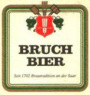 BIERDECKEL / BEER MAT / SOUS-BOCK: Bruch Bier - Sous-bocks