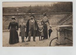 Carte Photo Lyon La Guillotière Photo De Famille 1907 - Lyon 7