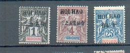 HOI 66 - YT 16-18-24 ** - Hoï-Hao (1900-1922)